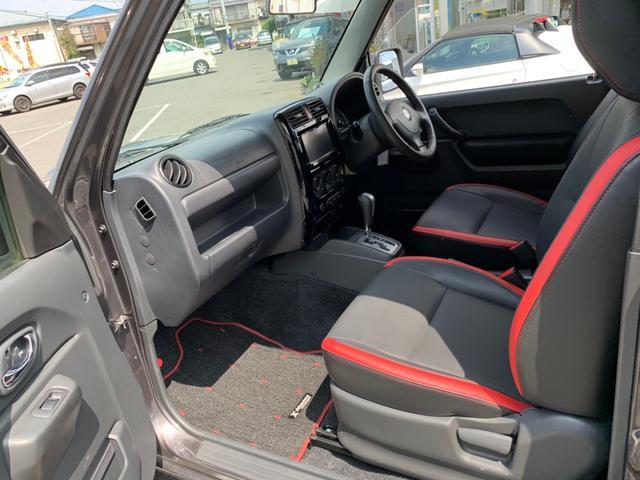 クロスアドベンチャー 特別仕様車 ターボ パートタイム4WD 革調シート SDナビ DVD 地デジ CD USB SD ETC シートヒーター LEDライト ヘットライトレベライザー ツイーター 衝突安全ボディー ABS(13枚目)