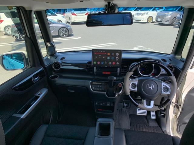 G ターボSSパッケージ 禁煙 ターボ レーダーブレーキ 両側自動 エンジンスターター ハーフレザー ウッドハン HID イエローフォグ ETC ドラレコ ディスプレイオーディオ ブルートゥース AUX USB シートヒーター(8枚目)