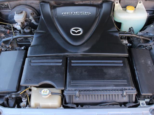 マツダ RX-8 タイプSトラストマフラーMSエアロ車高調赤黒レザー18インチ