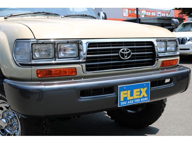 トヨタ ランドクルーザー80 VXリミテッド 後期 ナロー 角目 3UP 255MTタイヤ