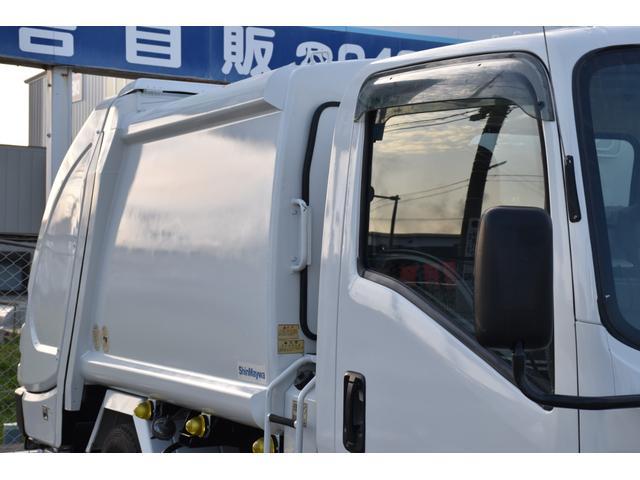 新明和製GPX プレス塵芥車 4.3立米 6MT(13枚目)
