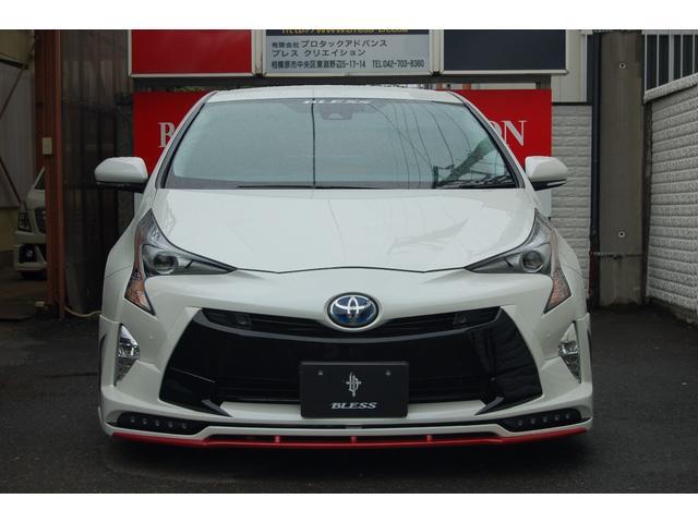 トヨタ プリウス Aツーリングセレクション BLESSコンプリ-ト デモカー