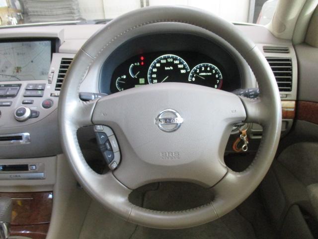 日産 シーマ 300G ワンオーナー ナビ ETC