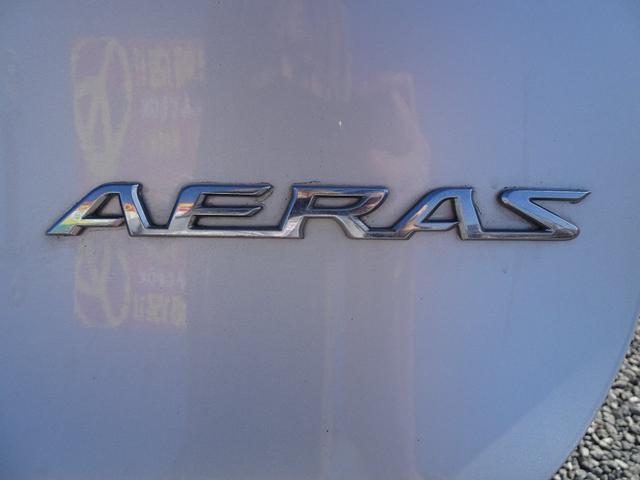 アエラス 平成18年式 走行58700キロ 4WD スマートキー 両側PSD ナビ バックカメラ オートエアコン リアクーラー DVD再生 ビルトインETC  純正17インチアルミホイール 8人乗り 修復歴無し(16枚目)