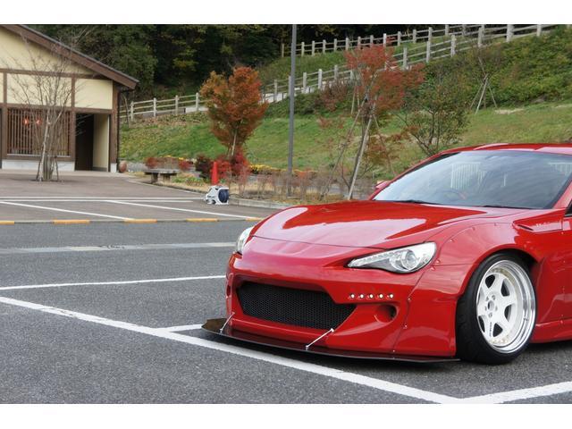 トヨタ 86 GT フルロケットバニー 専用リップ 専用デイライト