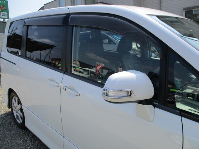 ZS Admirationエアロ HDDナビ ローダウン 後席天井モニター 黒革調シート ETC 両側パワースライドドア HID 前後駐車監視機能付ドライブレコーダー(19枚目)