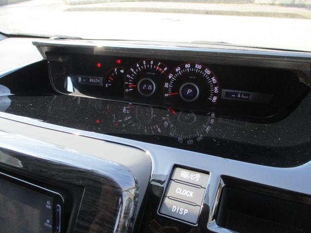 ZS Admirationエアロ HDDナビ ローダウン 後席天井モニター 黒革調シート ETC 両側パワースライドドア HID 前後駐車監視機能付ドライブレコーダー(34枚目)
