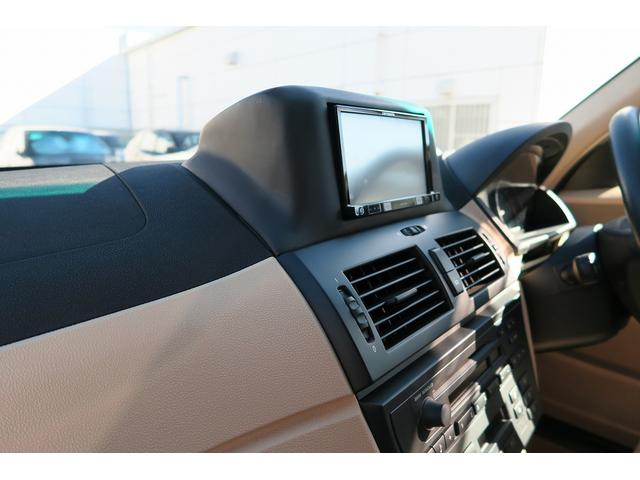 BMW BMW X3 エクセレント外内革シート ビルトインナビ地デジ ETC