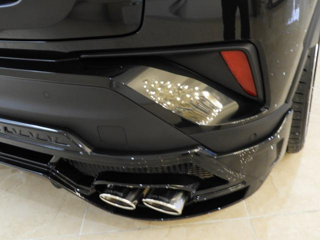 トヨタ C-HR G HV LED コンプリート 車高調4本出しマフラー