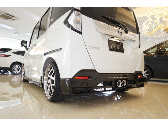 トヨタ タンク カスタムG S アルパイン9インチ マフラー17インチ