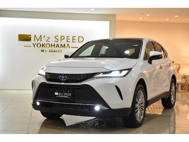 「トヨタ」「ハリアーハイブリッド」「SUV・クロカン」「神奈川県」の中古車4