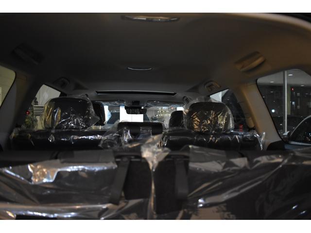 TX Lパッケージ 7人乗 新車本革レザーシート ムーンルーフ インテリジェンスクリアランスソナー アルパイン9型ナビパッケージ フロントグリル 4本出しマフラー 20インチホイール(45枚目)