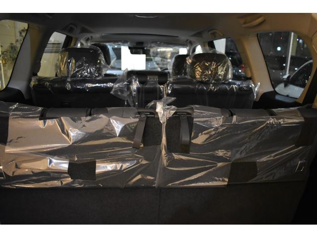 TX Lパッケージ 7人乗 新車本革レザーシート ムーンルーフ インテリジェンスクリアランスソナー アルパイン9型ナビパッケージ フロントグリル 4本出しマフラー 20インチホイール(46枚目)