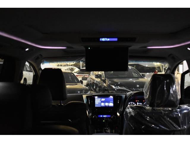2.5S Cパッケージ ムーンルーフ T-コネクトナビK12.1リアモニターCD.DVDバックカメラインテリジェンスクリアランスソナーバックカメラ標準装備 フロントグリル 4本出しマフラー22インチホイール  ABS製エアロ(7枚目)