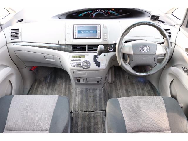 トヨタ エスティマ アエラス 4WD 7人乗 両側Pスラ Bカメラ V6・3.5
