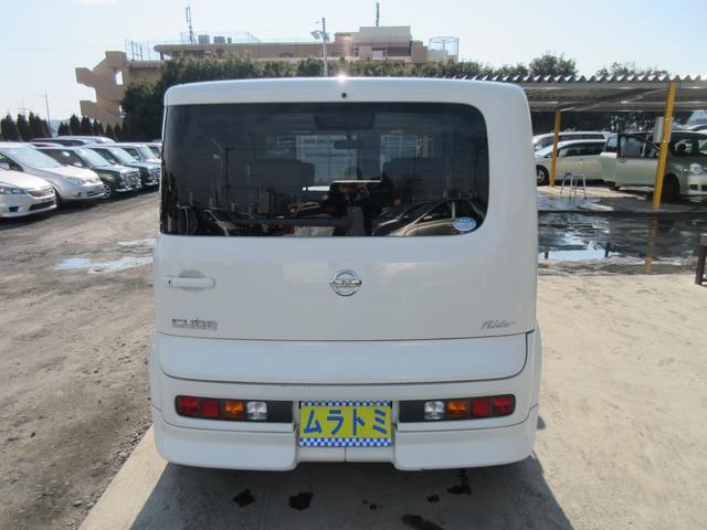 日産 キューブ ライダー HDDナビ 純正フルエアロ Tチェーン車