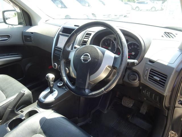 20X 4WD ハイパールーフレール HDDナビ 地デジTV ETC VDC 純正17インチアルミホイール HIDオートライト フォグライト タイミングチェーン インテリキー イモビ セキュリティー 取説(19枚目)