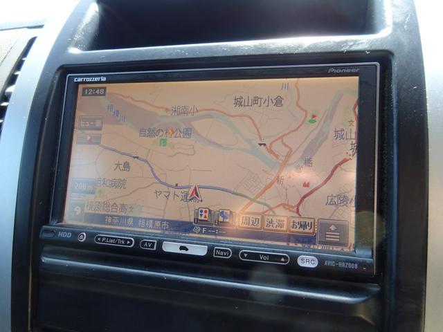20X 4WD ハイパールーフレール HDDナビ 地デジTV ETC VDC 純正17インチアルミホイール HIDオートライト フォグライト タイミングチェーン インテリキー イモビ セキュリティー 取説(22枚目)