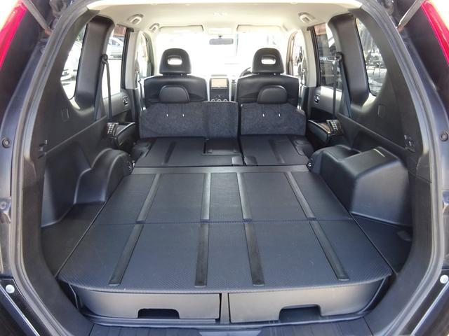 20X 4WD ハイパールーフレール HDDナビ 地デジTV ETC VDC 純正17インチアルミホイール HIDオートライト フォグライト タイミングチェーン インテリキー イモビ セキュリティー 取説(51枚目)