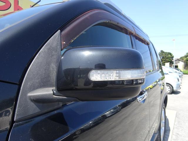 20X 4WD ハイパールーフレール HDDナビ 地デジTV ETC VDC 純正17インチアルミホイール HIDオートライト フォグライト タイミングチェーン インテリキー イモビ セキュリティー 取説(72枚目)