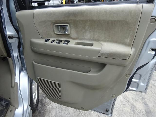 カスタムターボRSリミテッド 電動スライドドア キーレスキー 後期型 電格ウィンカーミラー HIDライト フォグライト リヤスポイラー 純正13インチアルミホイール サイドドアバイザー ABS(17枚目)