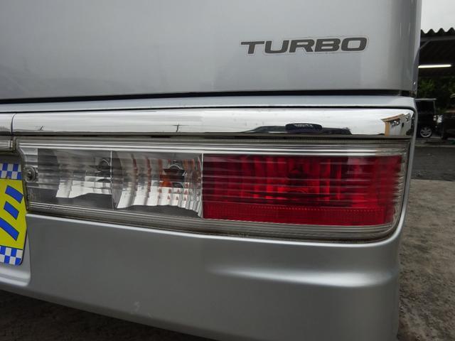 カスタムターボRSリミテッド 電動スライドドア キーレスキー 後期型 電格ウィンカーミラー HIDライト フォグライト リヤスポイラー 純正13インチアルミホイール サイドドアバイザー ABS(61枚目)