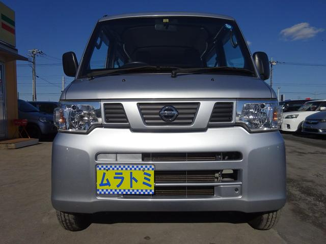 DX 5MT車 社外CDデッキ AUX付 両側スライドドア 集中ドアロック ヘッドライトレベライザー サイドドアバイザー パワーステアリング WSRSエアバック エアコン 取説(4枚目)