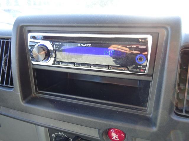 DX 5MT車 社外CDデッキ AUX付 両側スライドドア 集中ドアロック ヘッドライトレベライザー サイドドアバイザー パワーステアリング WSRSエアバック エアコン 取説(21枚目)