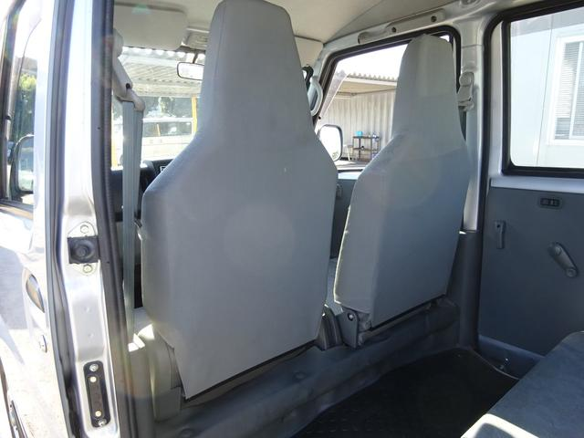 DX 5MT車 社外CDデッキ AUX付 両側スライドドア 集中ドアロック ヘッドライトレベライザー サイドドアバイザー パワーステアリング WSRSエアバック エアコン 取説(41枚目)