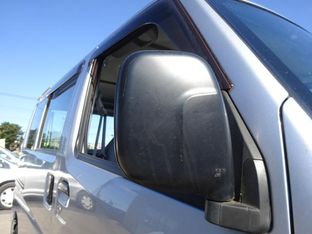 DX 5MT車 社外CDデッキ AUX付 両側スライドドア 集中ドアロック ヘッドライトレベライザー サイドドアバイザー パワーステアリング WSRSエアバック エアコン 取説(55枚目)