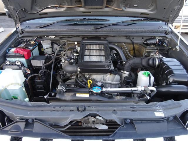 ランドベンチャー 7型 ターボ 4WD 社外CDMDデッキ キーレスキー シートヒーター ミラーヒーター ABS 革巻ステアリング 電格ウィンカーミラー 背面タイヤ フォグライト ヘッドライトレベライザー 純正16AW(2枚目)