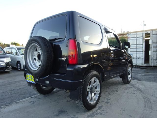 ランドベンチャー 7型 ターボ 4WD 社外CDMDデッキ キーレスキー シートヒーター ミラーヒーター ABS 革巻ステアリング 電格ウィンカーミラー 背面タイヤ フォグライト ヘッドライトレベライザー 純正16AW(8枚目)