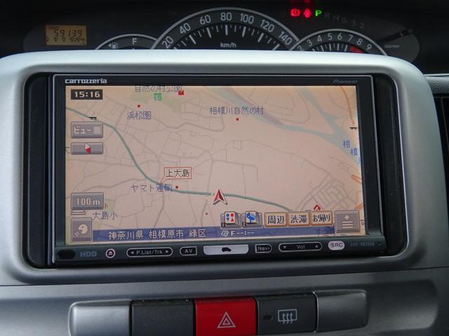 カスタムX 社外HDDナビ 地デジTV Ipod接続 ETC 純正エアロ 純正14インチアルミホイール スマートキー セキュリティー HID フォグライト ベンチシート 電格ウィンカーミラー タイミングチェーン(53枚目)