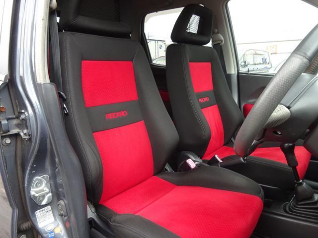 ベースグレード ターボ 5MT車 純正レカロシート キーレスキー ETC 社外CD・MDデッキ 革巻きステアリング タイミングチェーン フォグライト リヤスポイラー 純正15インチアルミホイール 電格ミラー ABS(17枚目)