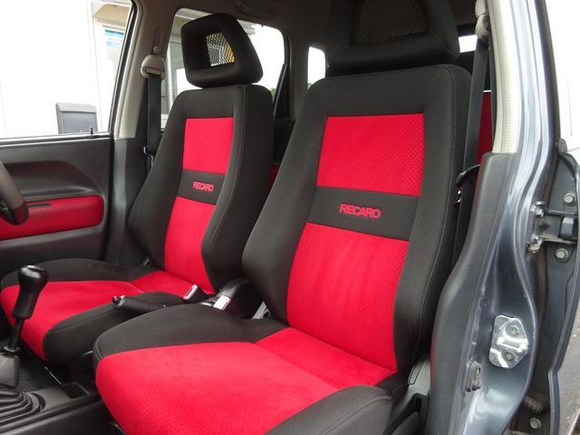 ベースグレード ターボ 5MT車 純正レカロシート キーレスキー ETC 社外CD・MDデッキ 革巻きステアリング タイミングチェーン フォグライト リヤスポイラー 純正15インチアルミホイール 電格ミラー ABS(47枚目)