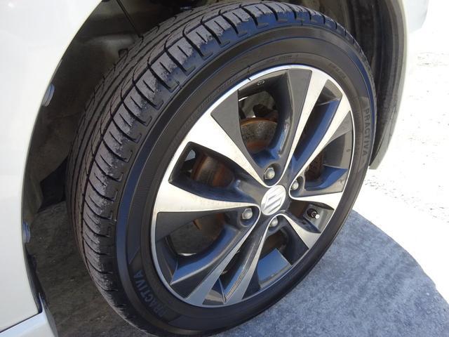 T ターボ アイドリングストップ HIDオートライト フォグライト パドルシフト 革巻きステアリモコン 純正CDデッキ AUX付 電格ウィンカーミラー スマートキー プッシュスタート ABS(16枚目)