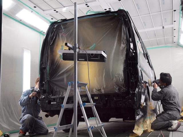 日産 キャラバン ロングDX ターボ 後期型 全塗装済み 1オーナー