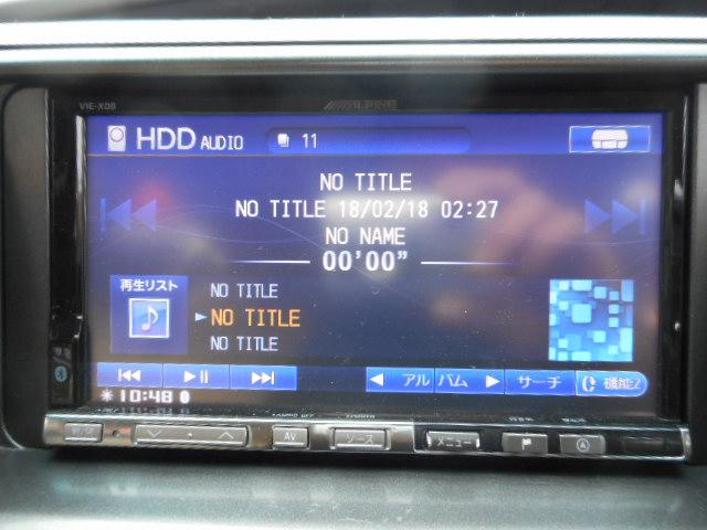 トヨタ エスティマ 2.4アエラス Gエディション HDDナビ リアモニター