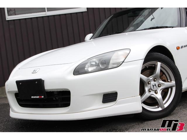 ホンダ S2000 タイプV 新品幌 Moduloリップ 黒革シート ETC