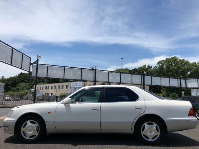 トヨタ セルシオ A仕様 ガラスサンルーフ ETC マルチ モケット