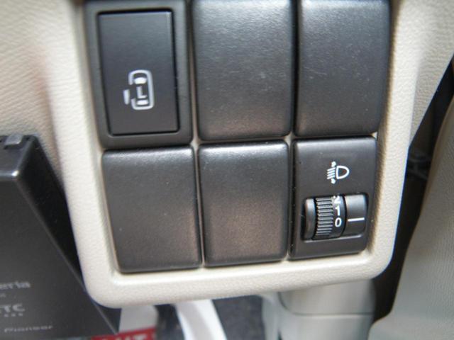 G ETC 片側電動スライドドア プッシュスタート スマートキー 電動ミラー CD Hレベライザー サイドバイザー タイミングチェーン ベンチシート オートエアコン パワステ ABS エアバック(18枚目)