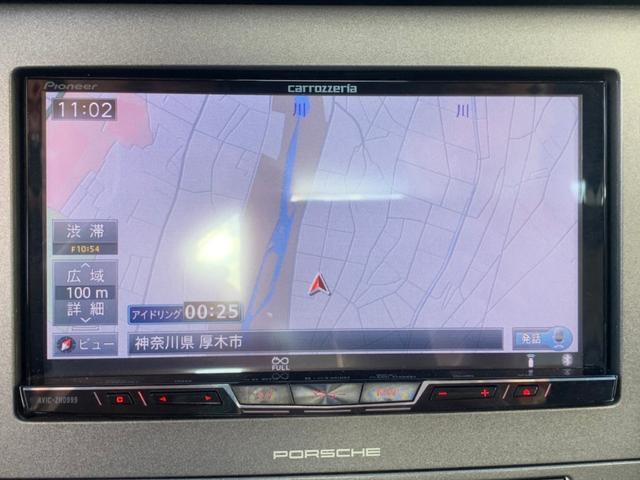 911カレラ サイバーナビ フルセグTV バックカメラ ブルートゥース接続 キーレス ETC 純正19インチアルミホイール クルコン CD/DVD再生 ミュージックサーバー シートヒーター 盗難防止装置(12枚目)