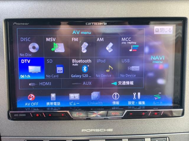 911カレラ サイバーナビ フルセグTV バックカメラ ブルートゥース接続 キーレス ETC 純正19インチアルミホイール クルコン CD/DVD再生 ミュージックサーバー シートヒーター 盗難防止装置(13枚目)