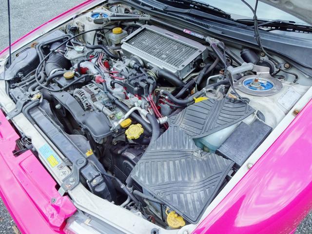 WRXタイプR STiバージョンVI 禁煙車、最終型タイプR、22Bワイドボディ、オールペイント、機関系ノーマル、18インチアルミホイール、ルーフベンチレーター、エアコン、パワステ、パワーウインドウ、HID、エアバッグ(80枚目)