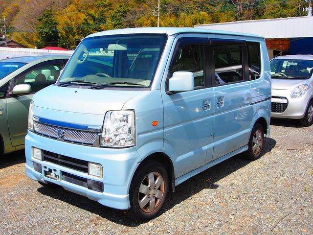 「スズキ」「エブリイワゴン」「コンパクトカー」「神奈川県」の中古車4