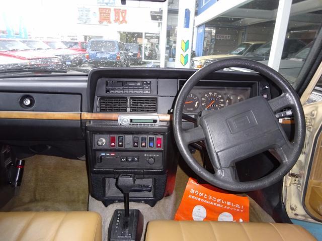 ボルボ ボルボ 240クラシックワゴン200台限定車 本革ベージュシート