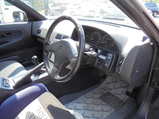 日産 180SX タイプIII スーパーハイキャス エアロSRアドバン17AW