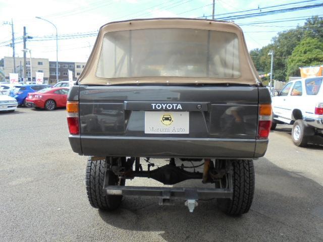 SSRリミテッド 幌公認リフトアップ社外16AWガソリン車(6枚目)