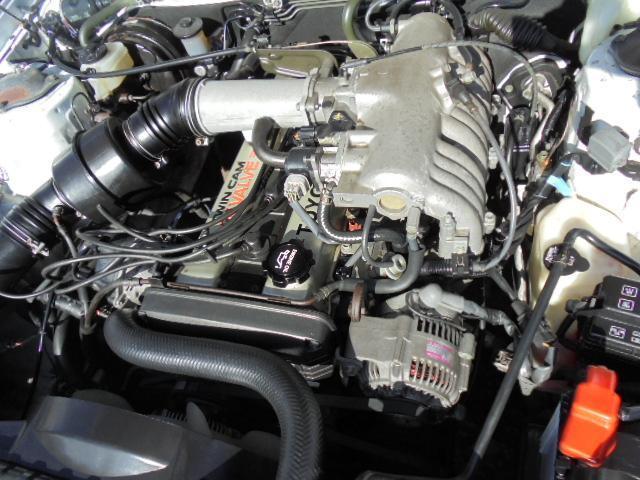トヨタ マークII グランデ ツインカム24 Fリップ車高調Weds17AW