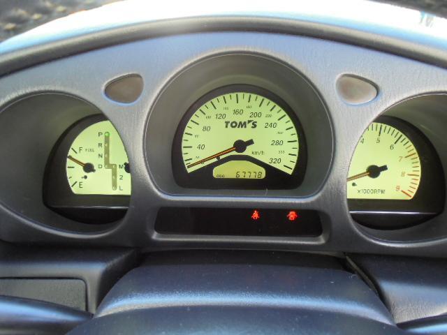 V300 TOM'S 320kmメーター18AW1オーナー(13枚目)